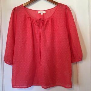Umgee Orange Shirt Size M